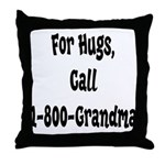 Call Grandma Throw Pillow