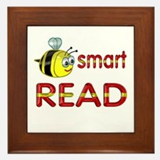 Be Smart Read Framed Tile