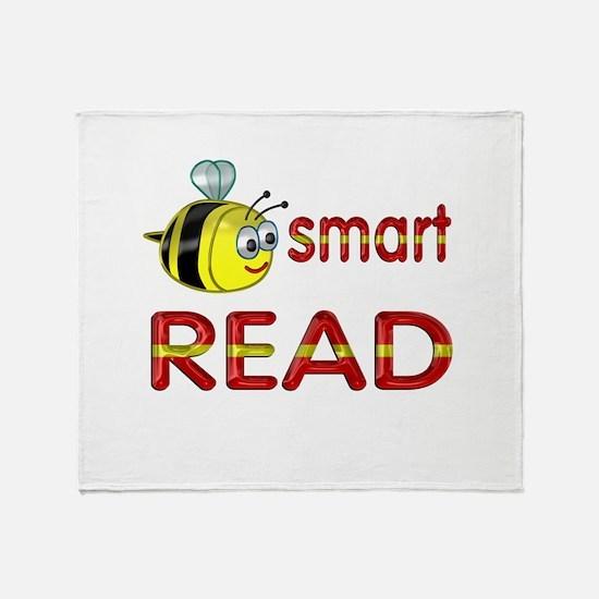 Be Smart Read Throw Blanket