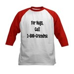 Call Grandma Kids Baseball Jersey