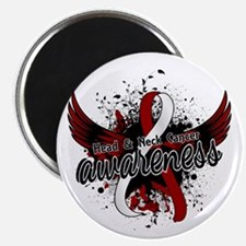 "Head Neck Cancer Awareness 2.25"" Magnet (10 pack)"