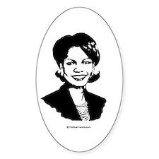 Condoleezza Rice / Great in 2008 Oval Decal