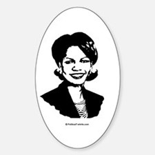 Condoleezza Rice / Great in 2008 Oval Decal