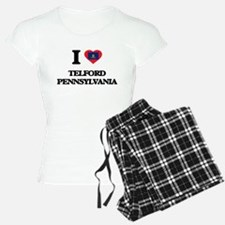 I love Telford Pennsylvania Pajamas