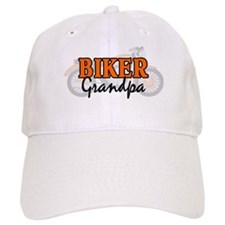 BIKER GRANDPA Baseball Cap