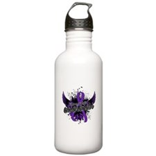 Fibromyalgia Awareness Water Bottle