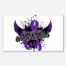 Fibromyalgia Awareness 16 Decal