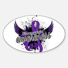 Fibromyalgia Awareness 16 Decal