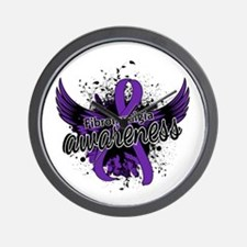 Fibromyalgia Awareness 16 Wall Clock