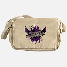 Fibromyalgia Awareness 16 Messenger Bag