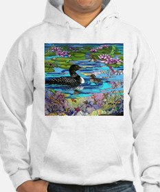 Loons and Lilies Hoodie