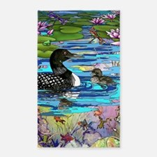 Loons and Lilies Area Rug
