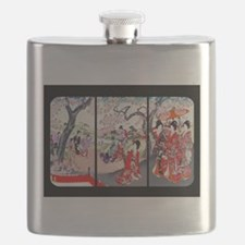 Cherry Blossom Time Japan Flask
