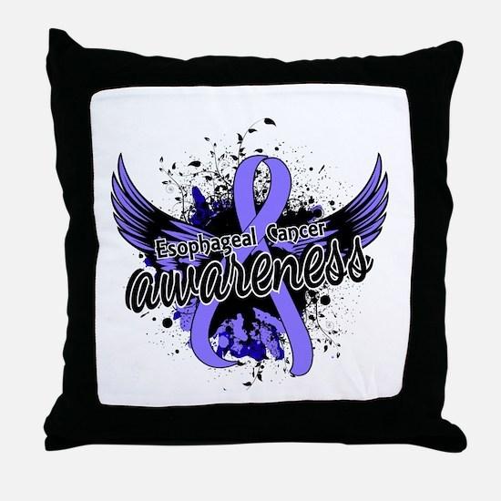 Esophageal Cancer Awareness 16 Throw Pillow