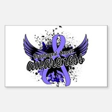 Esophageal Cancer Awareness 16 Decal
