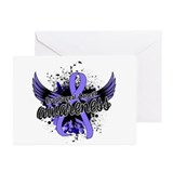 Esophageal cancer Greeting Cards (20 Pack)