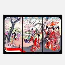Cherry Blossom Time Japan Postcards (Package of 8)