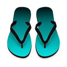 ombre Flip Flops
