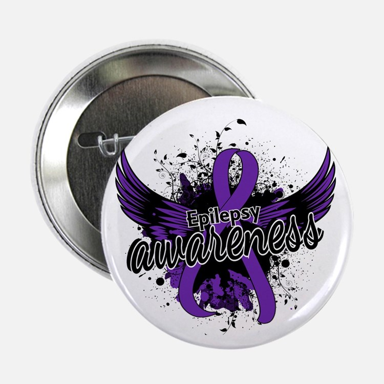 "Epilepsy Awareness 16 2.25"" Button"