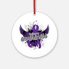 Epilepsy Awareness 16 Ornament (Round)