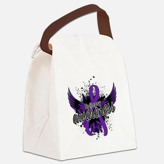 Epilepsy Awareness 16 Canvas Lunch Bag