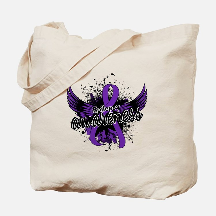Epilepsy Awareness 16 Tote Bag