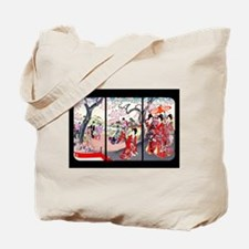 Cherry Blossom Time Japan Tote Bag