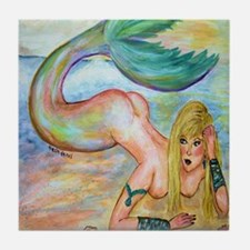 Mermaid Tile Coaster