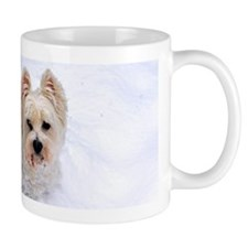 Snow Westie Mugs