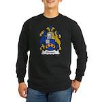 Ranson Family Crest Long Sleeve Dark T-Shirt