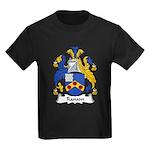 Ranson Family Crest Kids Dark T-Shirt