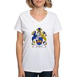 Ranson Family Crest Women's V-Neck T-Shirt