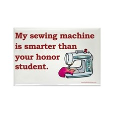 Sewing Machine Rectangle Magnet