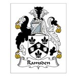 Ramsden Family Crest Small Poster