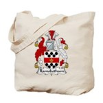 Ramsbotham Family Crest Tote Bag