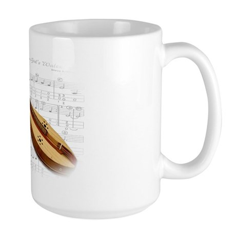 Mountain Dulcimer Large Mug