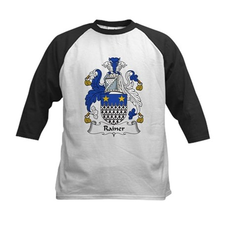 Rainer Family Crest Kids Baseball Jersey