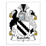 Radcliffe Family Crest Small Poster