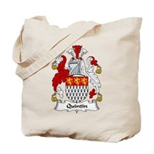 Quintin Family Crest Tote Bag