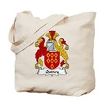 Quincy Family Crest Tote Bag
