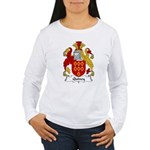 Quincy Family Crest  Women's Long Sleeve T-Shirt