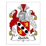 Quelch Family Crest Small Poster