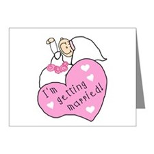 I'm Getting Married Note Cards (Pk of 20)