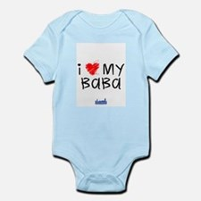Cute I love my english pointer Infant Bodysuit