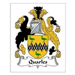 Quarles Family Crest Small Poster