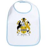 Quarles Family Crest  Bib