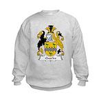 Quarles Family Crest Kids Sweatshirt