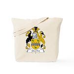 Quarles Family Crest Tote Bag