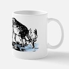 Elk in Stream Mug