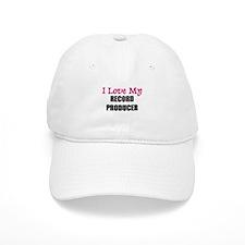 I Love My RECORD PRODUCER Baseball Cap